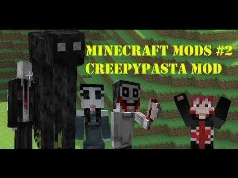 Обзор модов #2 Creepypasta Mod. Джеф, Слендер и другие.