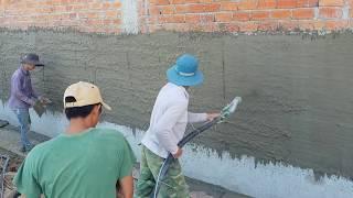 Phải thực tế mới đánh giá được hiệu quả máy phun vữa trát tường NPL 0915911533