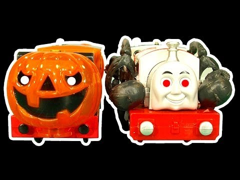 Thomas The Tank Halloween Theme How To Make Thomas & Friends Scary Ghost Trains video
