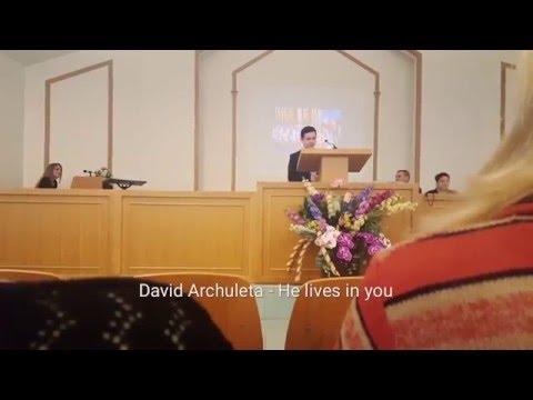 David Archuleta - He lives in you, Zagreb, 15. 5. 2016