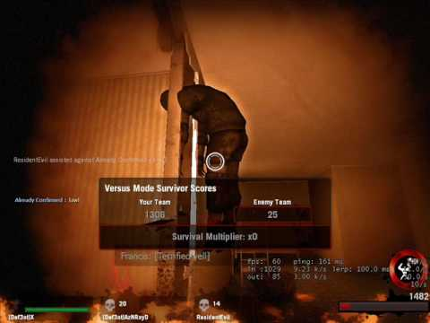 Funny L4D and L4D2 Screenshots Video