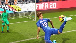 FIFA 20 TOP 10 BEST GOALS! Ft. SCORPION KICK,BACK HEEL, IMPOSSIBLE FREE KICK!