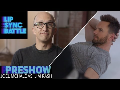 Joel McHale vs. Jim Rash (Preshow) | Lip Sync Battle