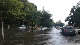 Inundație in Râmnicu Vâlcea 2019