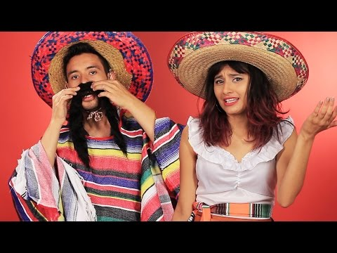 "Mexican People Try ""Mexican"" Costumes"