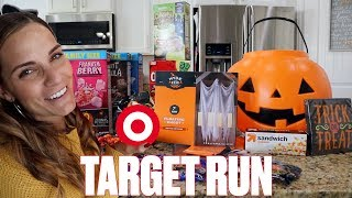 TARGET HAUL | SHOPPING AT TARGET | MINI-HALLOWEEN SHOPPING SPREE HAUL | QUICK TARGET RUN
