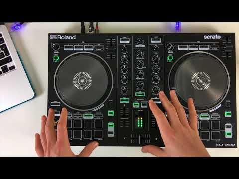 Roland DJ 202 - Review & Demo - Serato DJ Intro Controller