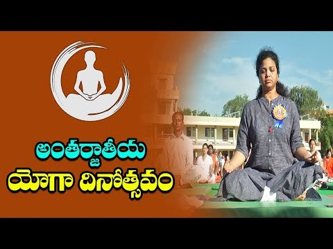 MP Butta Renuka Yoga Video | Kurnool | International Yoga Day | 21st June | IndionTvNews