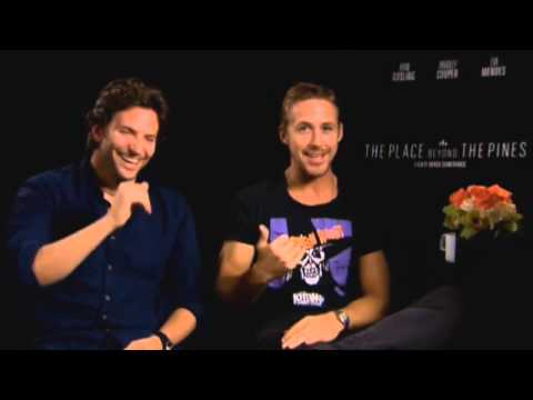 Ryan Gosling & Bradley Cooper Place Beyond The Pines Funny Interview