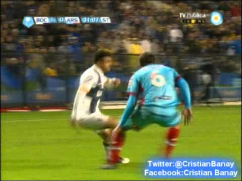 Boca 1 Arsenal 0 (Relato Javier Vicente )  Torneo Final 2013  (16/6/2013)
