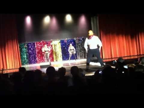 2014 Croatan High School Womanless Beauty Pageant Trish the Dish