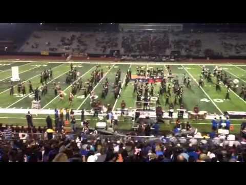 Donna High School Marching Band VS Vela HS Band 10/11/2013