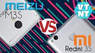Xiaomi Redmi 3S vs Meizu M3S Сравнение