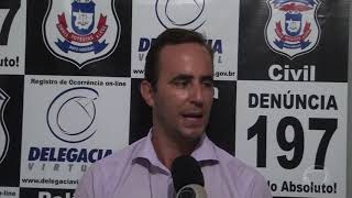 Polícia civil em Confresa registra crime de estelionato na compra de um trator