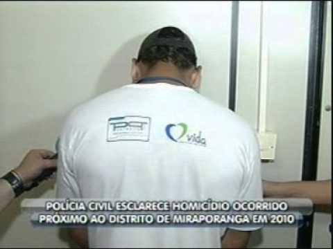 Homicídio em Miraporanga é esclarecido (Pte 2)
