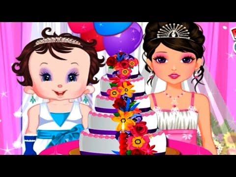 Baby Fun Wedding Cake - Baby Lisi Movie Full Episode 2014 HD - Free Games for Children