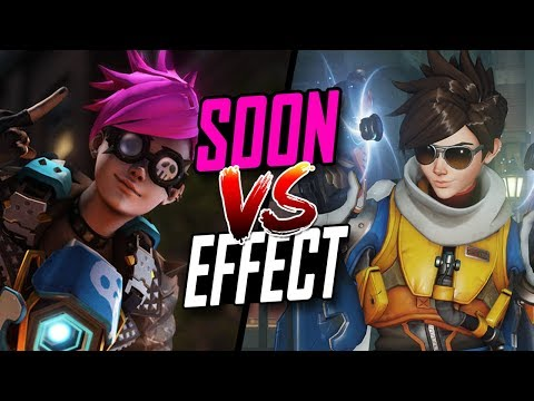 SoON BEST TRACER VS EFFECT PRO TRACER [ OVERWATCH TOP 500 SEASON 5 ]