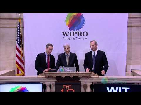 Wipro Limited rings the NYSE Closing Bell