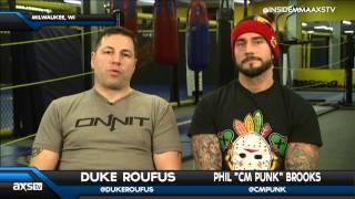 CM Punk and Duke Roufus Talk Progress on Inside MMA