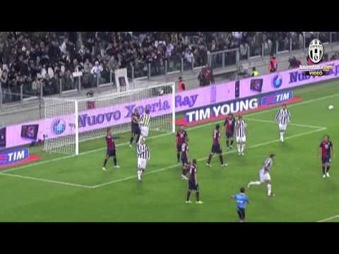 Juventus-Genoa 2-2, (22/10/2011): gli highlights