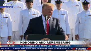 NEVER FORGET: President Trump VERY MOVING Speech