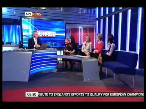 Donna-Marie Walton and Kevin on Sky News