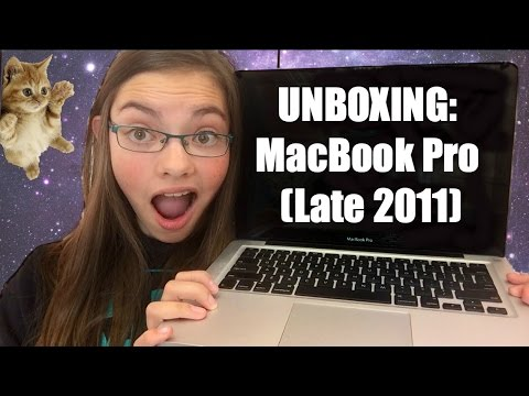 "Apple MacBook Pro 13"" Late 2011 Unboxing and Demo 