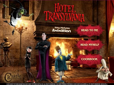 Sony Pictures Animation's Hotel Transylvania Movie BooClips Deluxe app by Castle Builders (IL)