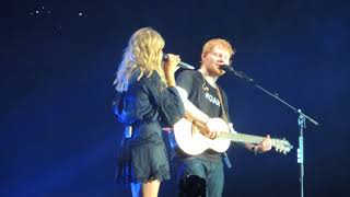 Download Lagu Ed Sheeran - Divide World Tour - Perfect feat Louane (live) @ Stade De France (07/07/2018) HQ Gratis STAFABAND