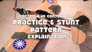 Control Line Stunt Pattern Explanation Play by Play