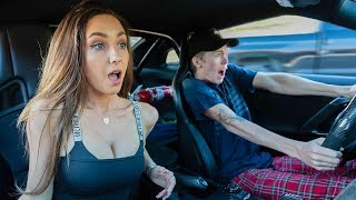 EX GIRLFRIEND REACTS TO 1000HP GTR LAUNCH!