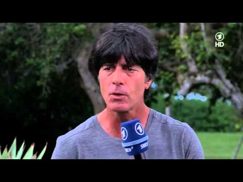 Interview with Joachim Löw, 06.07.2014