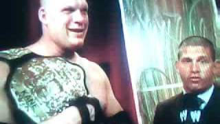 Kane Interview- Night of Champions 2010