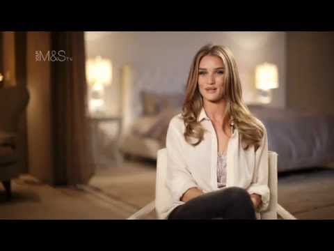M&S Lingerie - Rosie Huntington-Whiteley Lingerie for Autograph - Marks and Spencer 2012