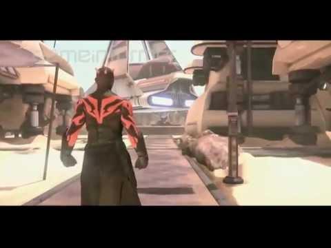 Star Wars Darth Maul, геймплей отмененной игры про Дарта Мола
