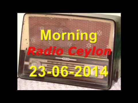 Radio Ceylon 23-06-2014~Monday Morning~02 Purani Filmon Ka Sangeet...