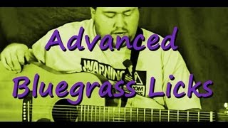 Advanced Bluegrass Licks