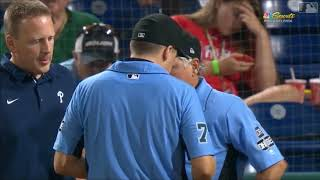 MLB 2018 Umpire Injuries