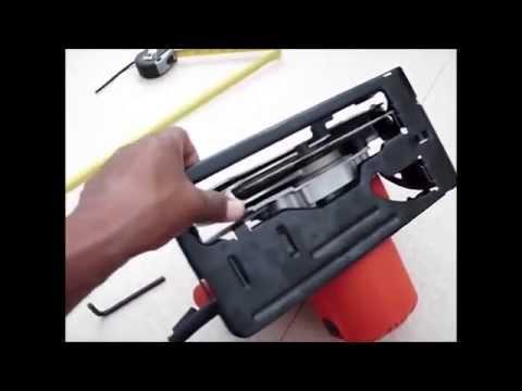 Como hacer guia para sierra circular