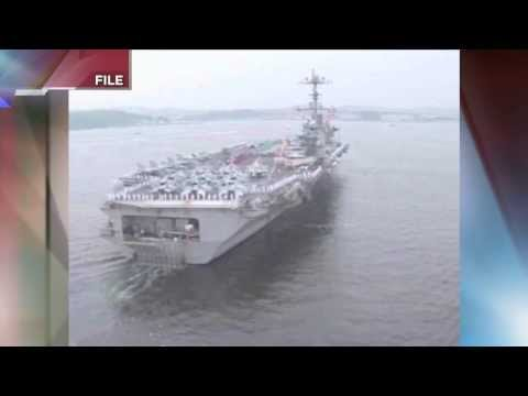 Typhoon Haiyan Aid - USS George Washington Arrives in Philippines