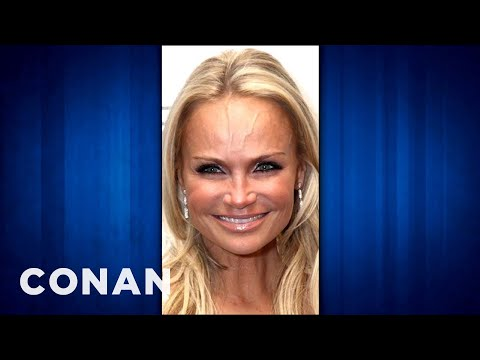 Kristin Chenoweth & Conan Are Seriously Veiny People - CONAN on TBS