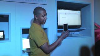 Sony Xperia S with NFC and camera demonstration + Tablet S & PlayStation Certification
