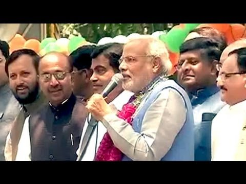Credit for victory goes to people of India: Modi after Delhi roadshow