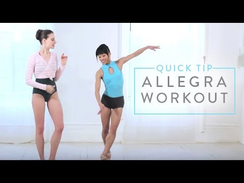 Ballet Beautiful: Quick Tip - The Allegra Workout