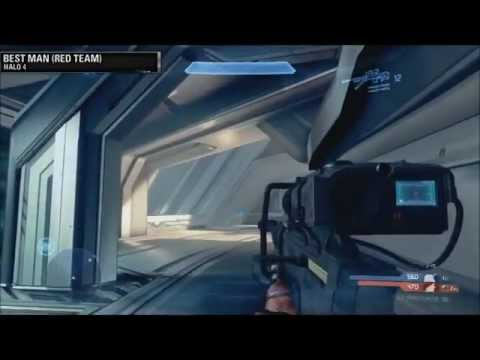 Halo 4: NEW First SNIPER RIFLE (Gameplay) Hardlight-Shield And More HD