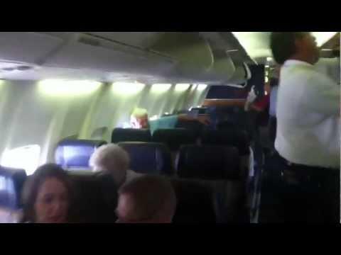 Boarding Southwest Airlines Boeing 737-700 in Boise