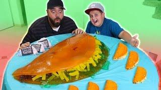 DIY Giant Gummy Taco Bell Doritos Locos Tacos!