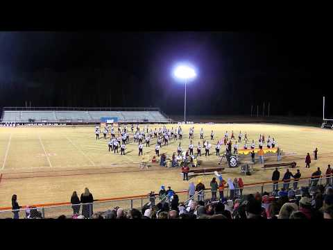 Brooke Point High School 2013-2014 Marching Blackhawks at Band Together to Fight Hunger