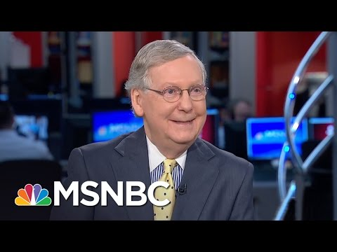 Mitch McConnell Says Merrick Garland Is No Moderate | Morning Joe | MSNBC