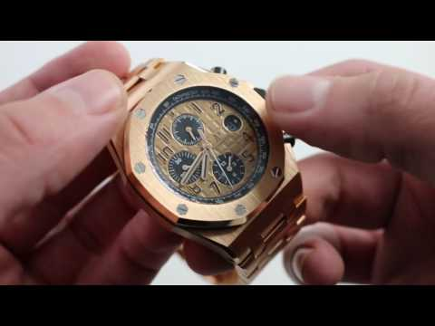 Audemars Piguet Royal Oak Offshore 26470OR Luxury Watch Review